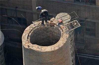 哈密烟囱刷涂料公司专业烟囱防腐施工单位