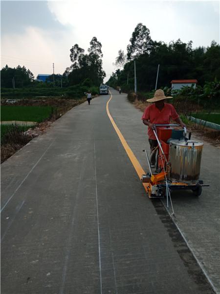 中山市沙溪镇教练场热熔划线包工包料