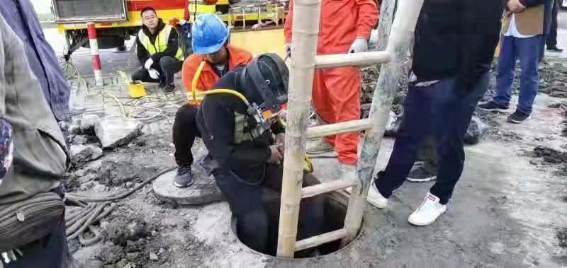 金山区石化街道工厂管道检测