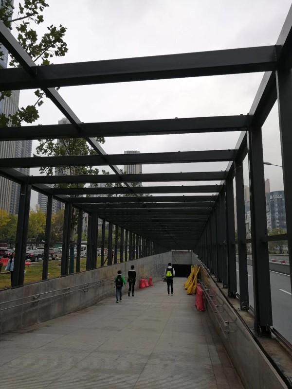 武汉市钢构楼层板专业钢结构建造施工