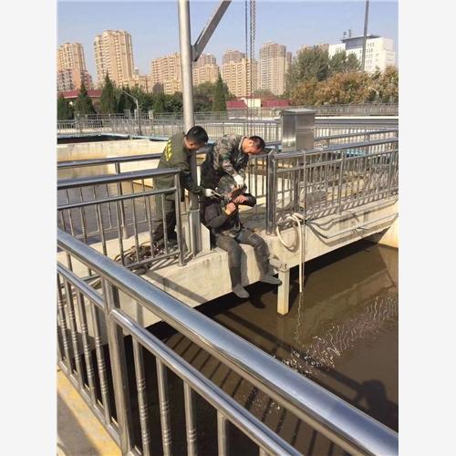 当阳市政排污井管道潜水封堵公司潜水员水下作业