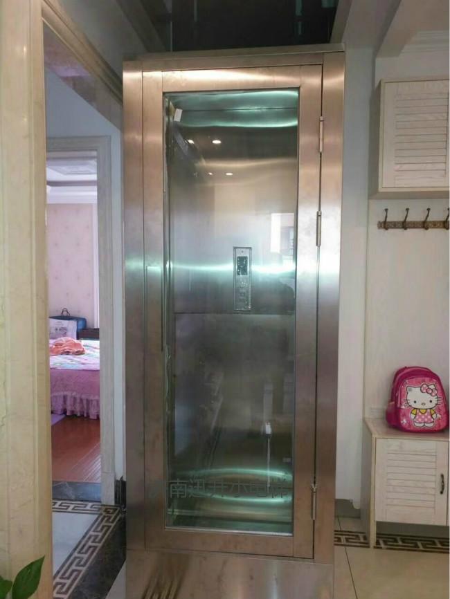 技术指导:黑河别墅三层家用电梯/两点闪烁
