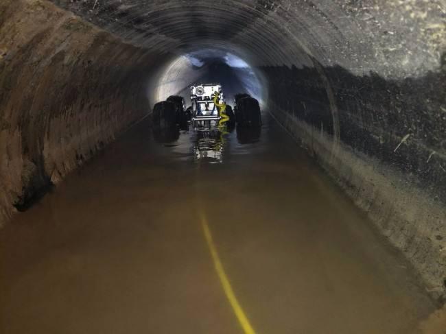 李沧地下室隔油池清理清底操作