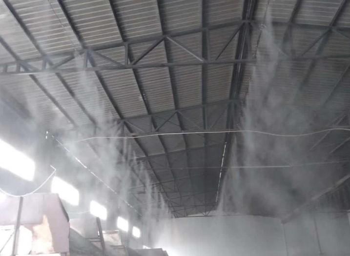 呈贡砂石厂厂房降尘喷淋安装厂家