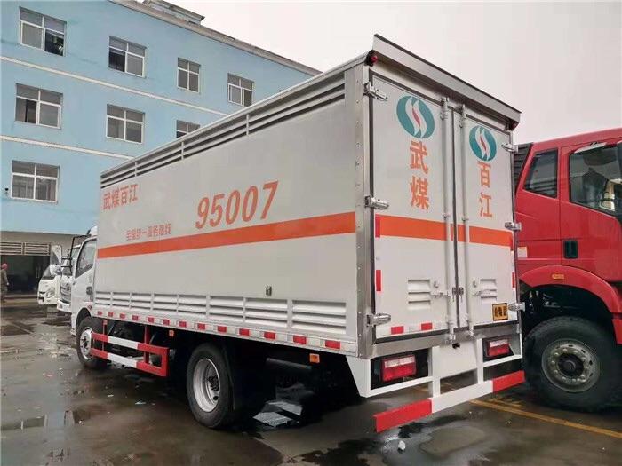 东风4米2危险品易燃气体厢式货车厂家