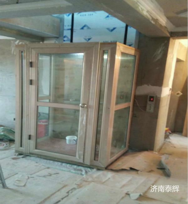 乐山众人电梯升降货梯4米商铺液压电梯
