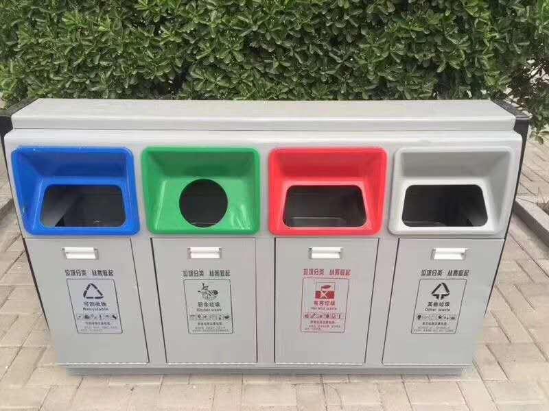 临夏县工厂室外垃圾桶全国低价-西安鑫中星
