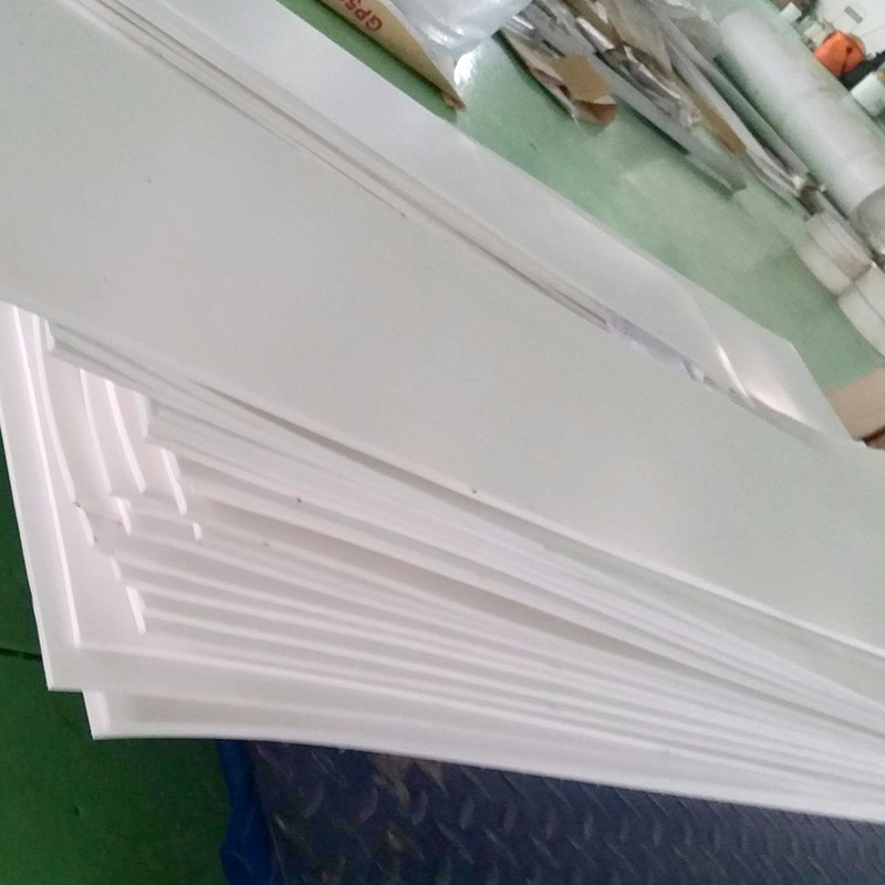邵阳市四氟楼梯板5mm厚聚四氟乙烯板现货供应