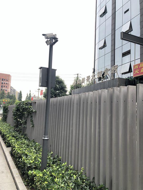 凉山西昌4G公交站点监控立杆质量上乘送样品