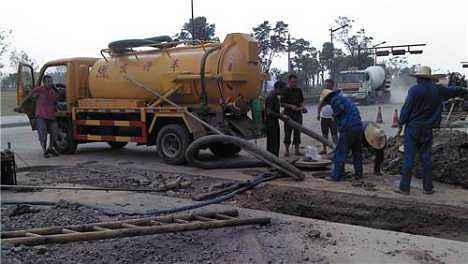 华蓥雨水污水管道清淤——污水运输公司价格