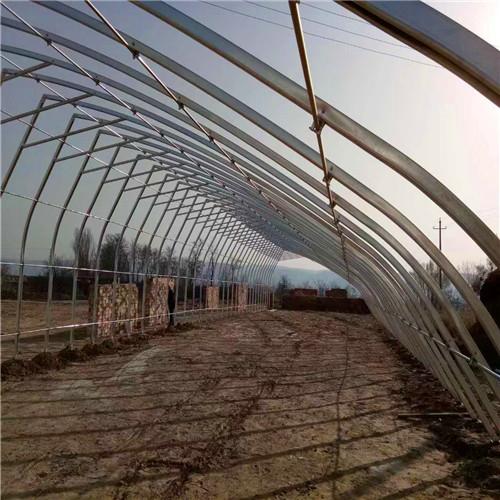 防城港草莓大棚几字钢骨架成本预算温室大棚