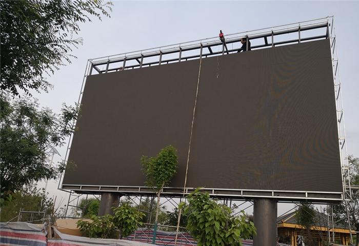 永年商显LED大屏施工安装