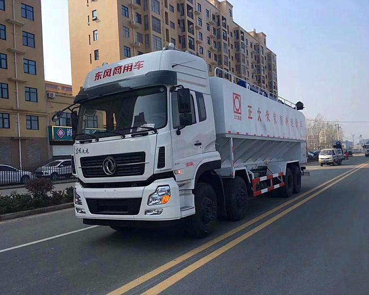 梅州散装运输饲料车专业厂家