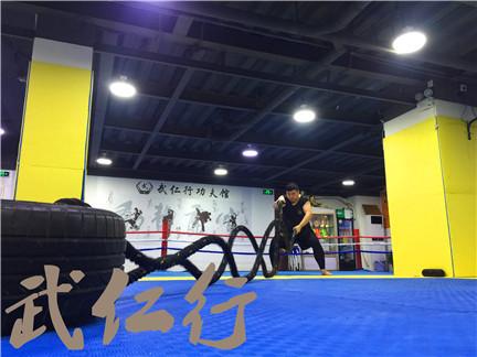 黄浦青少年拳击自由搏击对抗性训练