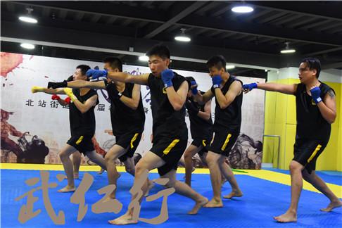上海黄浦少年连环拳散打俱乐部