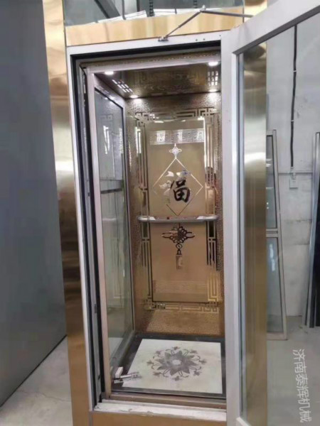 大庆5层3层观光电梯手动/电动两用(可选)