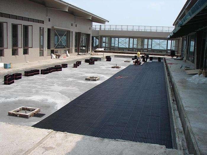 许昌哪里有卖虹吸排水板的@塑料排水板厂家
