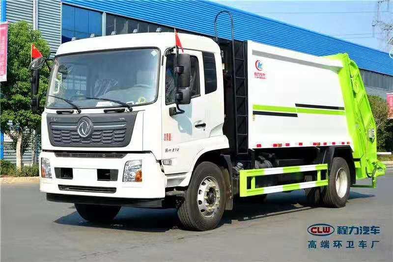 江铃12吨后装压缩式生活垃圾清运车车型