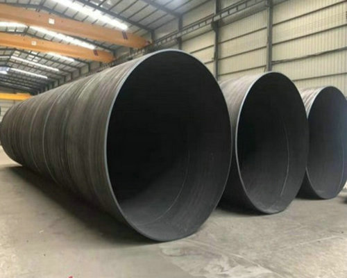 土木工程打桩用螺旋焊接钢管成孔方法黑水