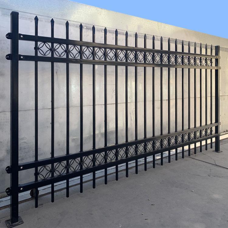 点击查看-南阳内乡围墙栏杆围墙护栏精创金属