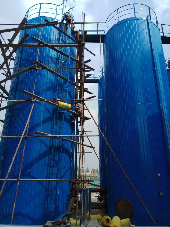 隆尧县罐体岩棉彩钢板保温施工价格
