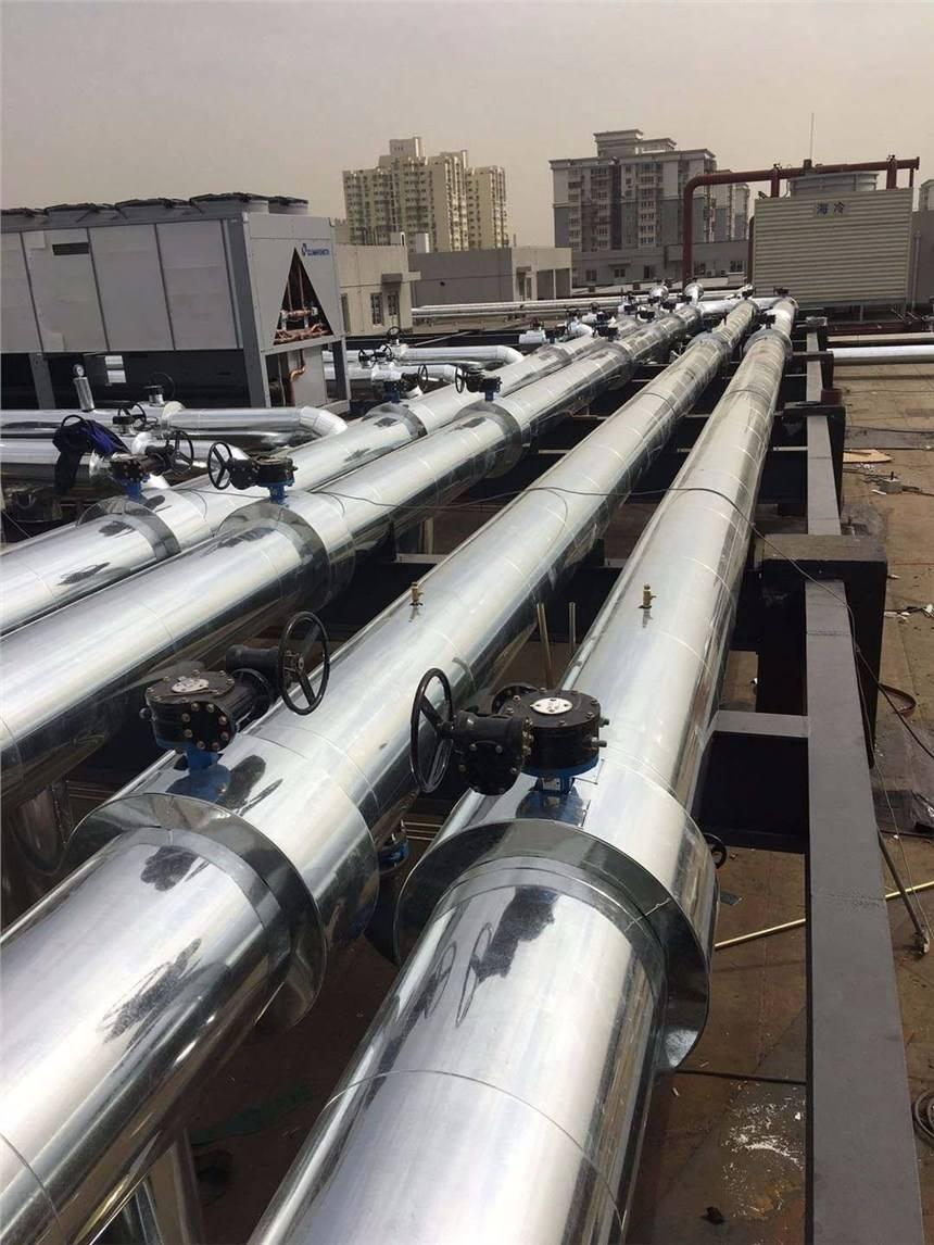 秦汉新城管道铁皮保温施工多少钱一米