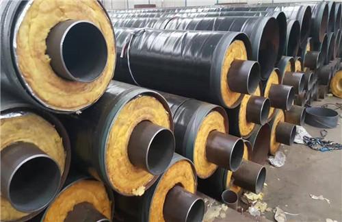调兵山:聚氨酯保温螺旋钢管销售商