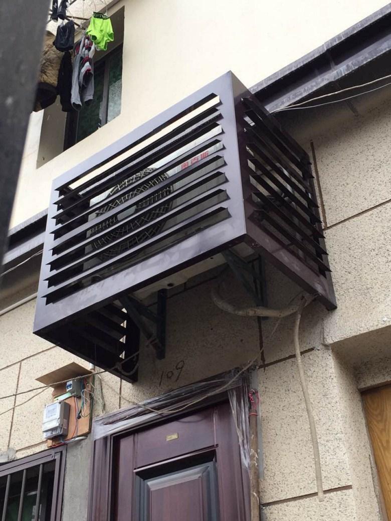 包头市改造外墙空调罩造型多样选择