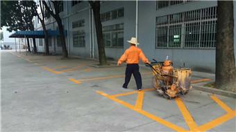 中山市三乡镇教练场标线划线来电咨询