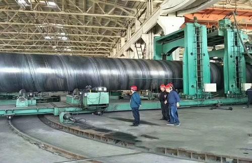 DN700排污用螺旋焊管今天价格