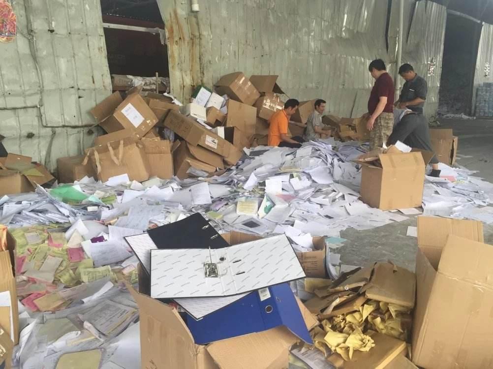 增城区粉碎销毁布匹处理服务中心