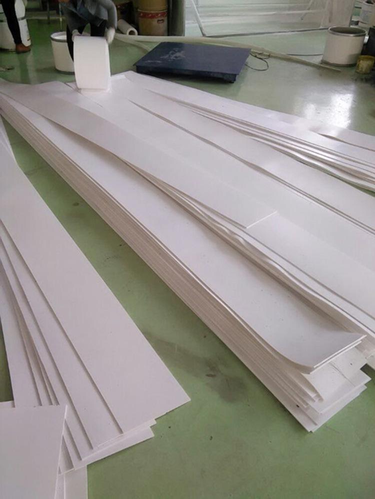 鄂州市楼梯工程滑板5厚聚四氟乙烯板加工定制