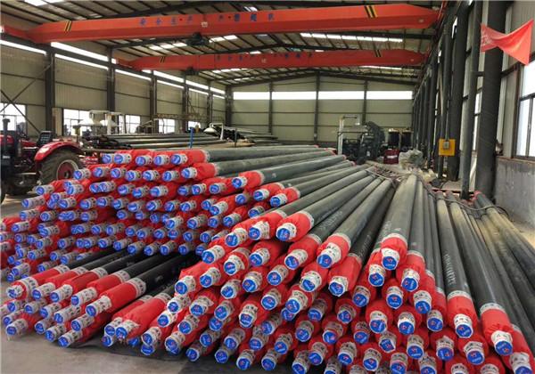 玉林陆川高密度聚乙烯聚氨酯保温管表面热处理库存量大
