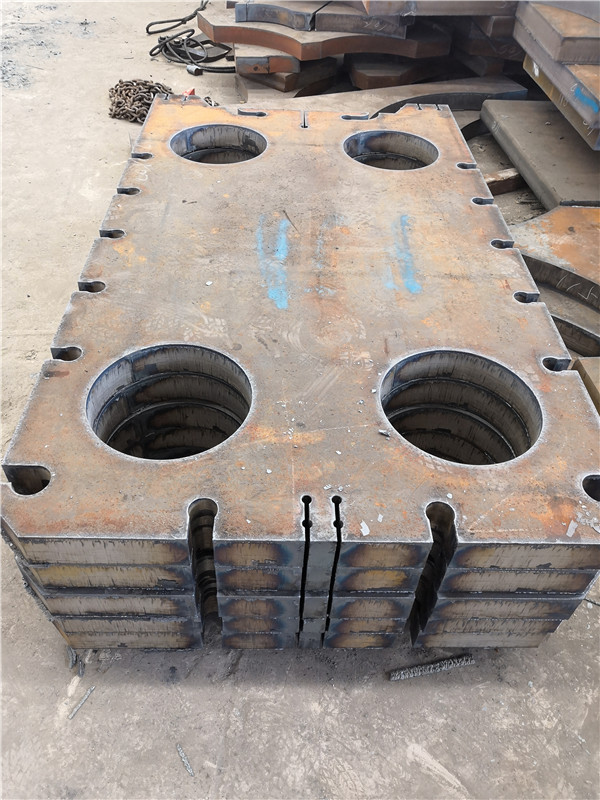 黄冈nm500钢板切割方料40cr厚钢板按图加工