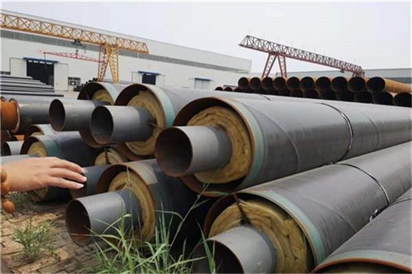 钢套钢直埋保温螺旋钢管自产自销★三门峡市