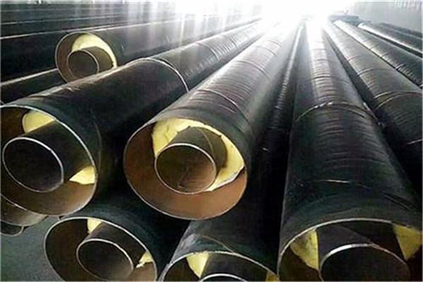 预制钢套钢蒸汽复合保温钢管张家口市问现货价格