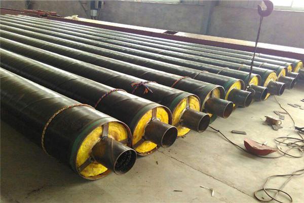 钢套钢预制蒸汽防腐保温管安宁市问定做加工厂家