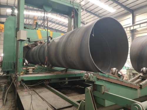 DN1200排污用螺旋焊管多少钱一米