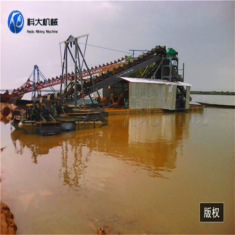 湖北省襄阳市大型水上挖沙选金平台价格