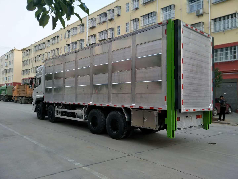 邵阳市带喷淋系统恒温拉生猪车恒温猪仔运输车