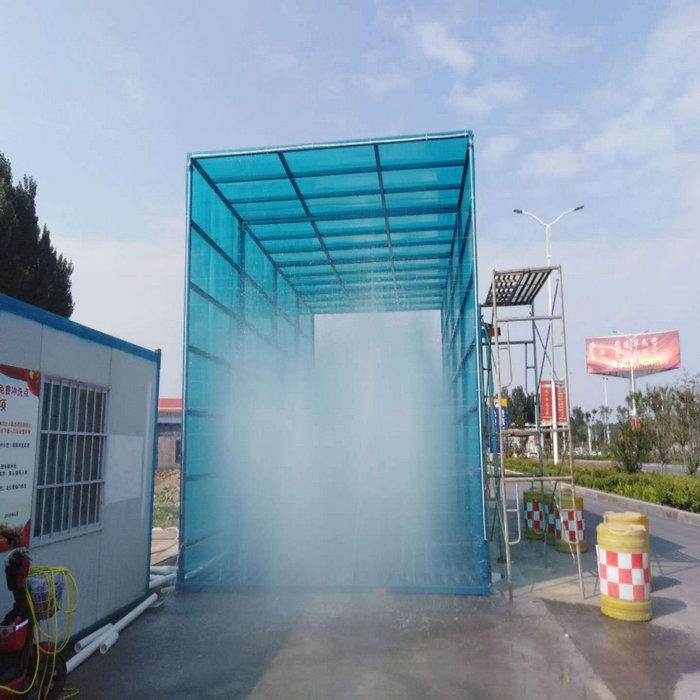 郊区车间高压雾化设备_矿场降尘喷淋系统调试方法
