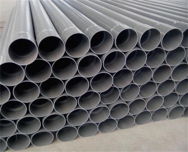 七台河市勃利县PVC灰色给水管多少钱一米