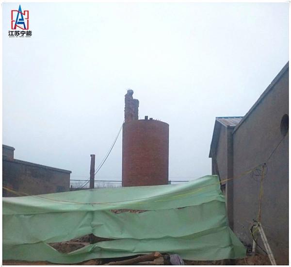 阿坝拆除30米砖烟囱安全技术措施——推荐宁能高空