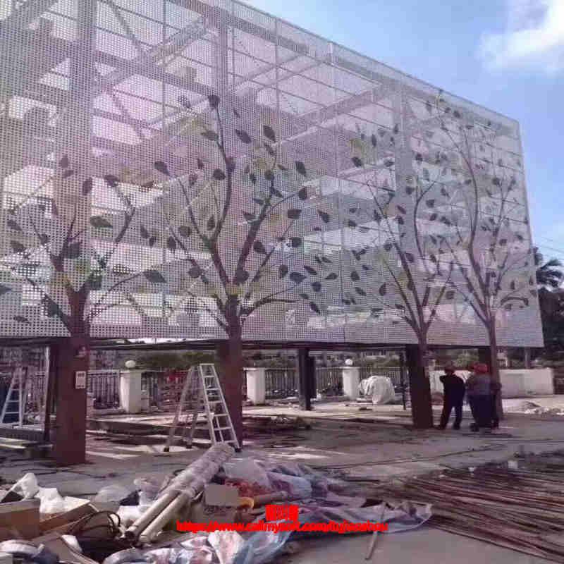 东莞桥头不规则冲孔铝板定制哪里有卖