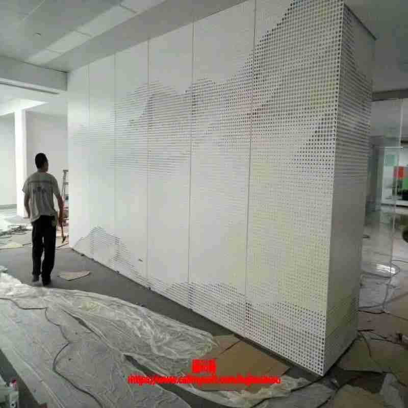 福安冲孔铝板外墙厂家直销