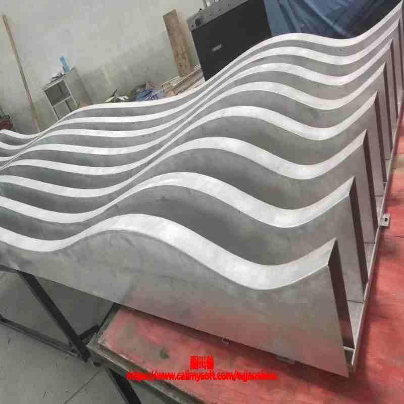 扬州造型波浪方通供应商