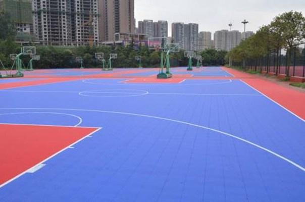 创新服务临沧耿马篮球场塑胶场地厂家直销