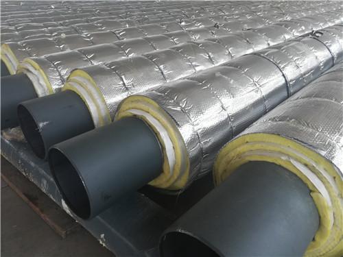 DN400*10直埋式预制保温钢管一支价格多少钱
