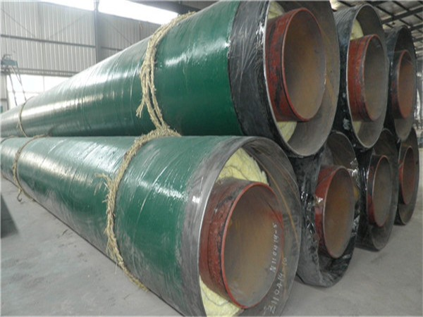 DN600*10螺旋保温钢管价格及报价