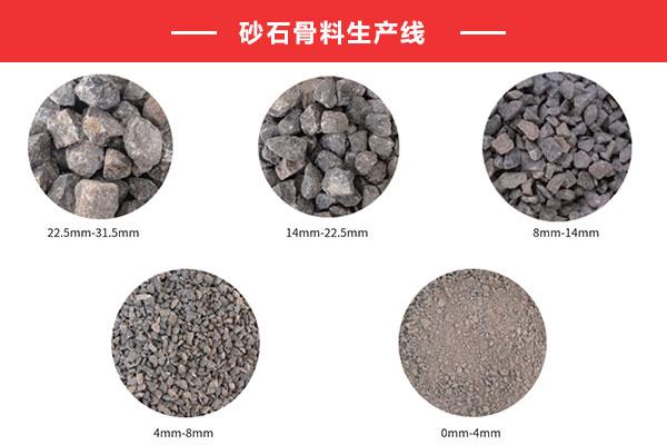 陕县砂石骨料生产线价钱_砂石生产线工艺流程
